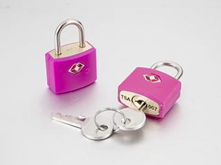 TSA key padlock
