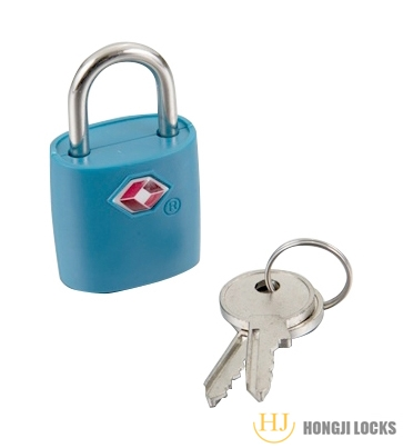 41*25*15.5 Small Mini Durable ABS Brass Body Individually Keyed Luggage Padlock